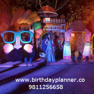 rajasthani theme party decoration for party