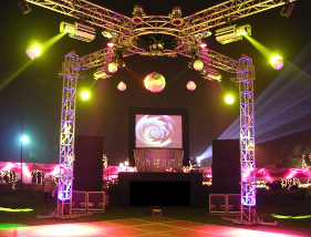 sound system for college party in delhi