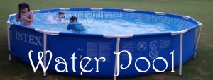 water pool for children's birthday party