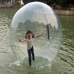 water zorbing for party