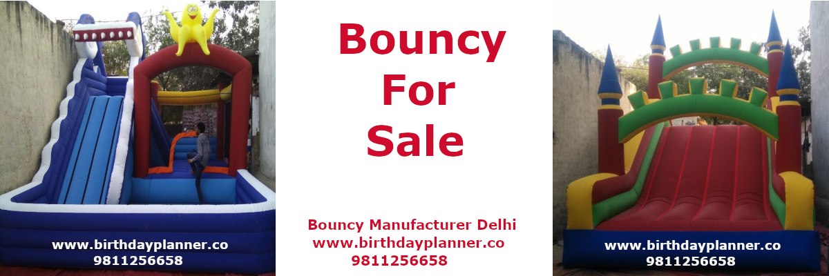 bouncy manufacturer company in Delhi