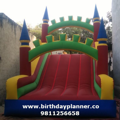 Slide bouncy manufacturer in Delhi