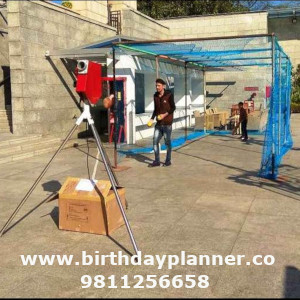 bowling machine for rent in Delhi