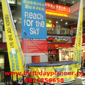bungee jumping on rent