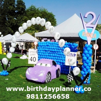 car theme party ideas