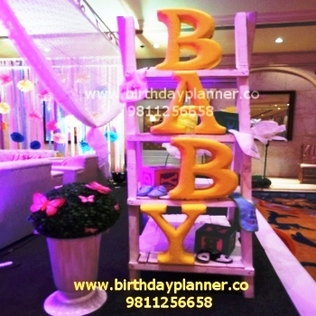new born baby theme party ideas