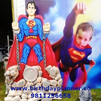 superman theme party ideas
