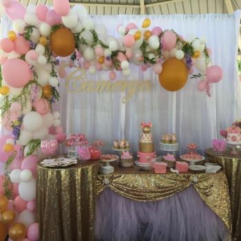 angel theme party idea