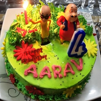 motu patlu themed birthday party