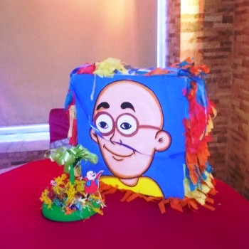 motu patlu theme decor