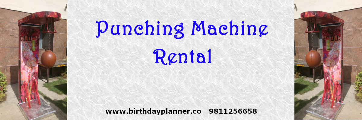 punching machine for hire in delhi