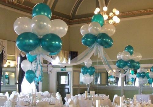 aqua theme decoration