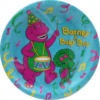 barney theme party decoration