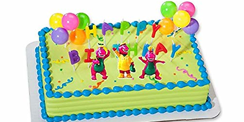 barney theme party ideas