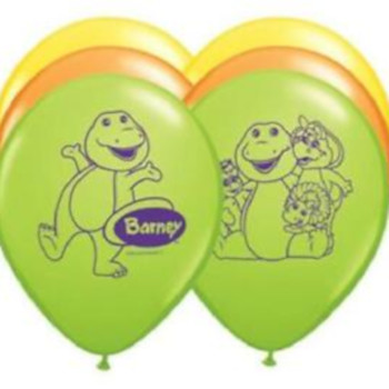 barney theme party planner