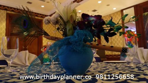 Krishna theme party decor