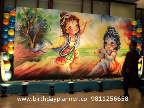 Krishna theme party Delhi
