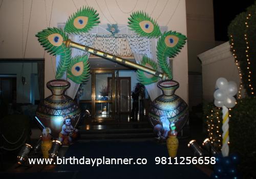 Laddu Gopal theme decor ideas