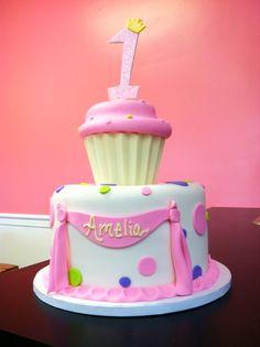 cupcake theme party idea