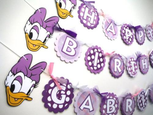 daisy duck theme party idea