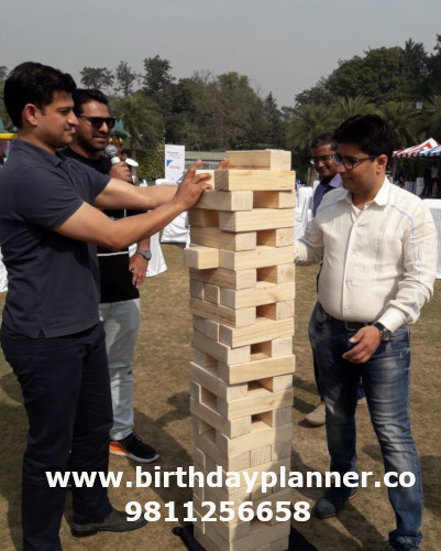 giant jenga on rent delhi