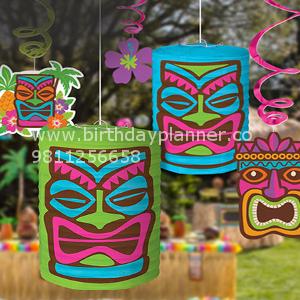 hawaii theme party idea