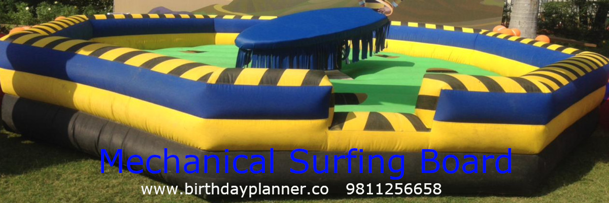 mechanical surfing board on rent