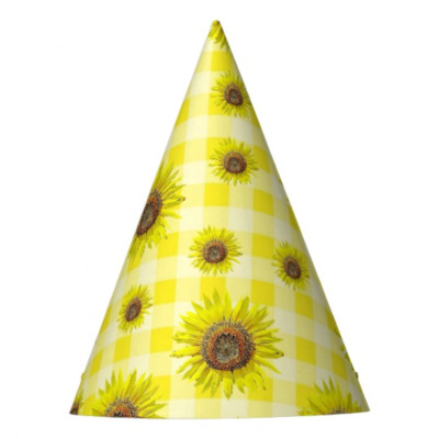 sunflower themed birthday party
