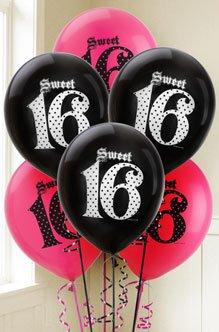 sweet sixteen theme party ideas