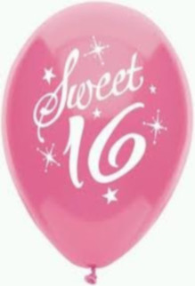 sweet sixteen theme party