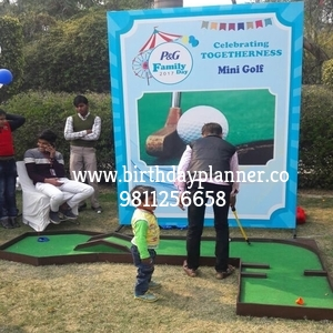 mini golf game for hire in delhi
