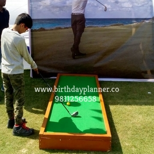 mini golf on rent in delhi
