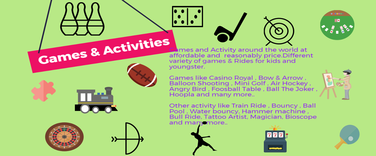 games and activity for event