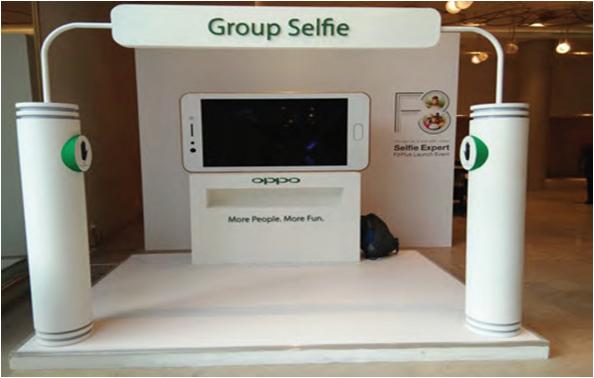 Group Selfie Station