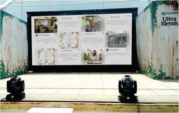 Interactive Social Wall