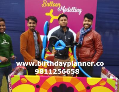 balloon modeling artist delhi