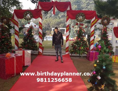 Christmas theme party delhi