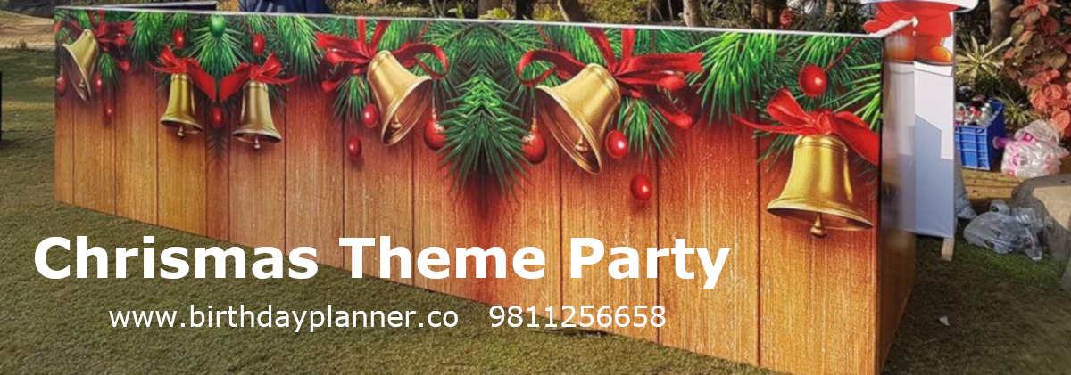 Christmas theme party planner