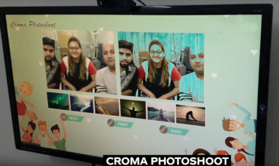 Croma photo shoot