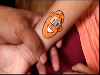sticker tattoo artist on rent