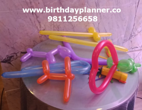 balloon modelling rental delhi