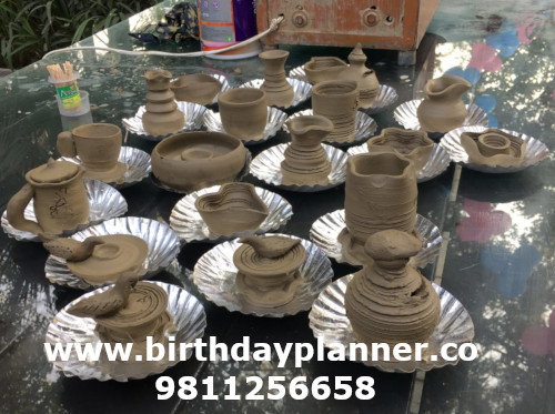pottery making for hire