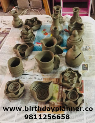 pottery artist for rent