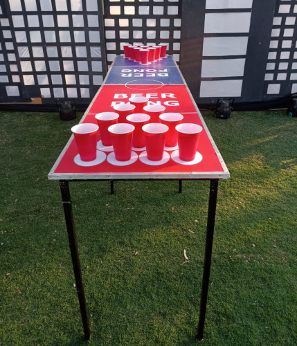 beer pong table on rent