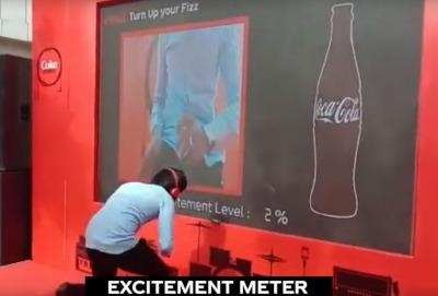 digital excitement meter for hire