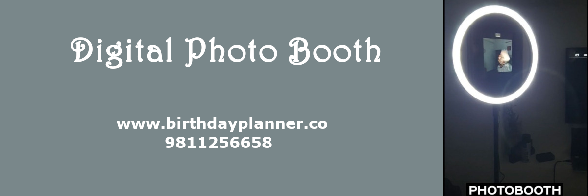 digital photo booth on rent