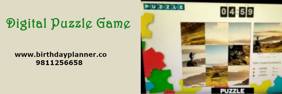 digital puzzle game on rent
