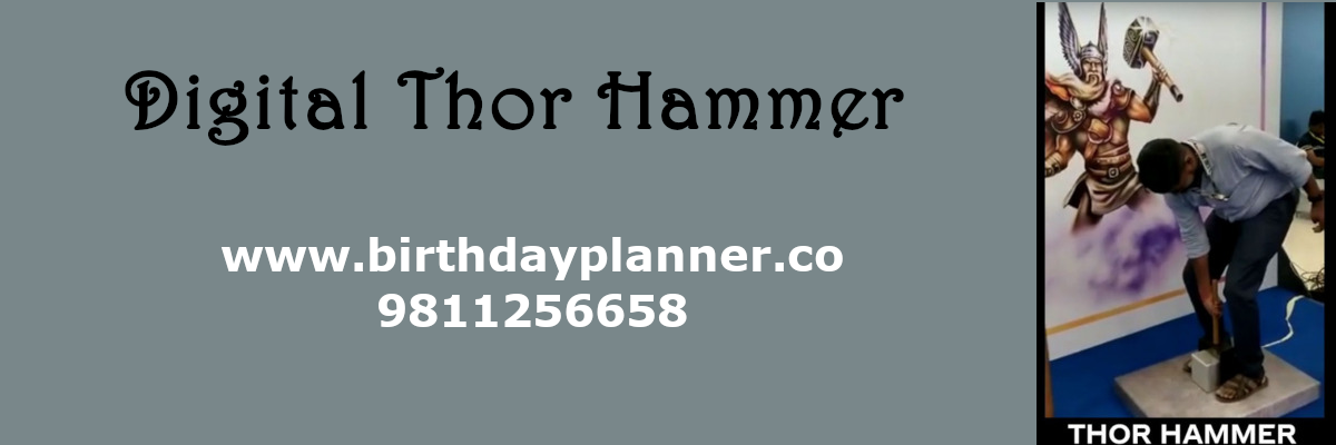 digital thor hammer on rent