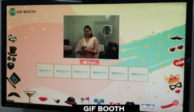digital gif booth for hire