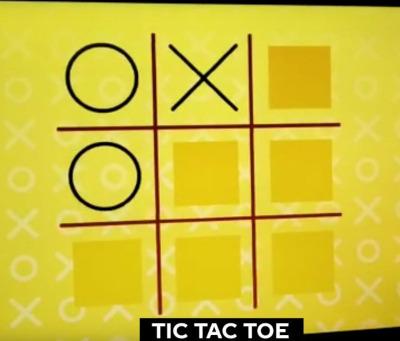 digital tic tac toe game for hire